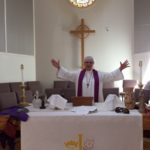 Pastor Peg Moser of the John Street United Methodist Church in Camden Invites the Community to Celebrate Easter