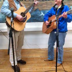 Vic Kunitsky and Vicki Lutz perform together
