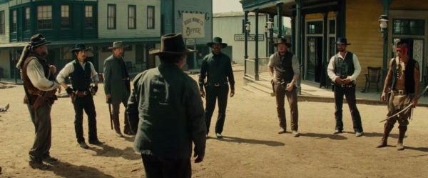 """The cast of the hit remake of """"The Magnificent Seven."""""""