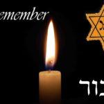Yom HaShoah Star candle