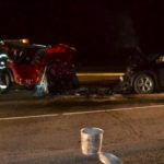 The drivers of both vehicles in a head-on collision on Route 1 in Wiscasset were brought to area hospitals the evening of Thursday, April 20.