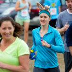 The annual Epic Sports' Rabbit Run race winds through the Bangor City Forest. The 5.25 mile course saw over 100 runners Saturday. Proceeds went to benefit the Bangor Humane Society and the Clifton Climbers Association.