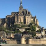 Fort Kent students visited Mont Saint-Michel in Normandy France.