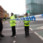 A police cordon blocks a street near the Manchester Arena in Manchester, Britain May 24, 2017.