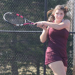 Gabrielle Marquis and her Caribou tennis team went undefeated on the regular season. The Vikes shut out Presque Isle Tuesday, 5-0, in the final match before the playoffs.