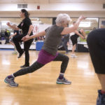 People participate in a 50+ 'N Fit Class at the Bangor Y Tuesday.