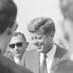 On JFK's 100th birthday, Trump repudiates his legacy