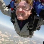 Jumpers reached terminal velocity -- or 120 mph -- skydiving over Presque Isle last weekend.