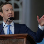 Facebook founder Mark Zuckerberg speaks during the Alumni Exercises following the 366th Commencement Exercises at Harvard University.