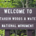The monument opened on Thursday to a sparse crowd, but National Park Service officials hope for a better showing this weekend.