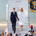 White House senior advisor Jared Kushner and his wife Ivanka Trump arrive at the Leonardo da Vinci-Fiumicino Airport in Rome, Italy, May 23, 2017.