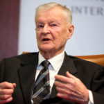 Former U.S. National Security Advisor, Zbigniew Brzezinski, speaks at a forum hosted by the Center for Strategic and International Studies in Washington on March 9, 2015.