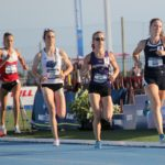 Carsyn Koch, right, won Saturday's 800-meter final at the NCAA Div. II Women's Outdoor Track and Field Championships held in Bradenton, Fla. Koch is a 2014 graduate of Washburn District High School and just finished her junior year at Cedarville University in Ohio.