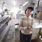 Cathe Morrill, owner of State of Maine Cheese Factory in Rockport.