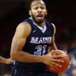 Troy Reid-Knight of the University of Maine drives to the basket during a December 2015 game at Boston College. The oft-injured senior plans to transfer elsewhere to complete his college eligibility. Mark L. Baer  USA TODAY Sports