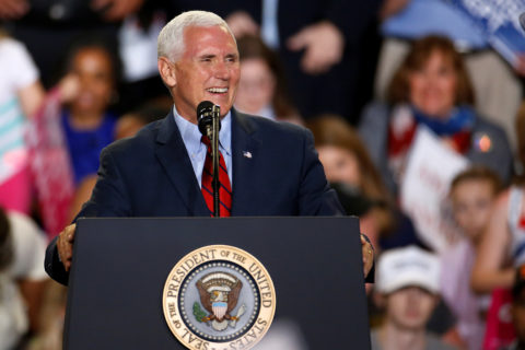 Vice President Mike Pence spoke highly of Maine's &quothigh-risk pool&quot on a recent episode of &quotMeet the Press.&quot