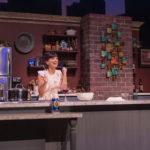 "Michelle Damato plays Giulia in Penobscot Theatre's production of ""I Loved, I Lost, I Made Spaghetti."""