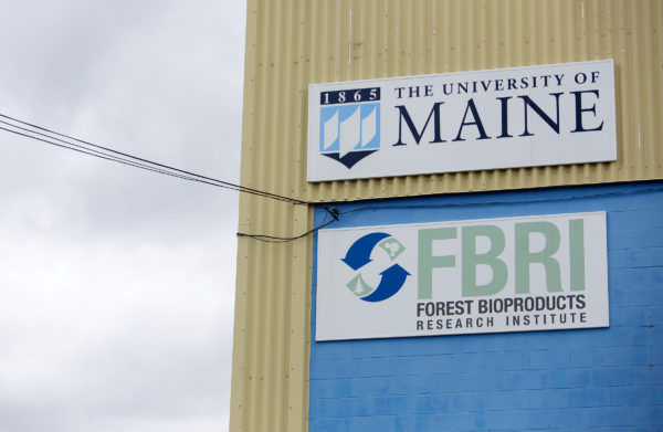 The University of Maine Technology Research Center is seen in Old Town Wednesday. The Massachusetts company Biofine demonstrated its pilot biorefinery project in the former Old Town Fuel and Fiber mill.