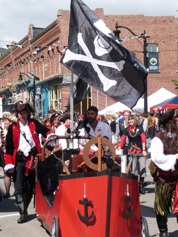 The Pirate Festival in Eastport has become an annual affair for the Maine community on Passamaquoddy Bay.