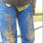 If faux-mud splattered pants are now high fashion, just spend some time in northern Maine working outdoors during mud season.