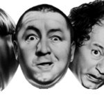 Official Comedy III Productions  Three Stooges logo. 