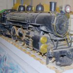 This working scale model locomotive is an exact replica of a Bangor & Aroostook engine from the early part of the last century. George Roy of Fort Kent spent an estimated 5,000 hours fabricating the model in 1961. Last week, it was gifted to the Fort Kent Historical Society.