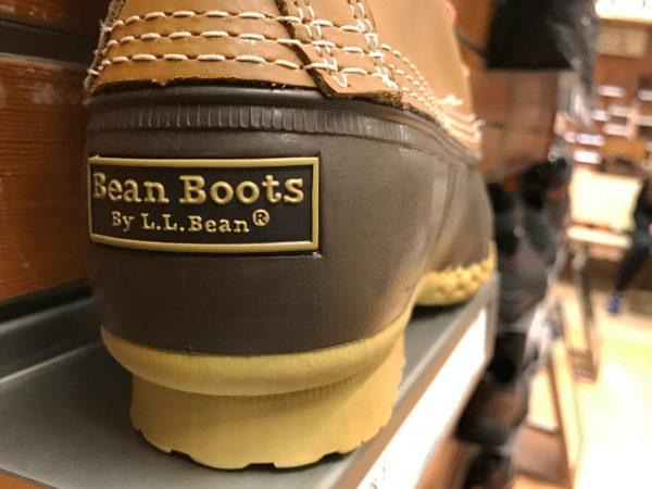 Signature L.L. Bean boots.