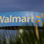 A Wal-Mart sign is pictured at one of their stores in Monterrey, Mexico, April 26, 2017.