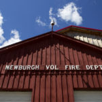 All 11 members of Newburgh's volunteer fire department quit their jobs during Monday's selectmen's meeting.