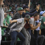 Boston Celtics fans are extra excited after the organization won the first pick in the NBA draft lottery held on Tuesday night.