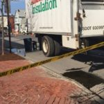 Traffic was diverted Wednesday following chemical spill on Congress Street in Portland near Munjoy Hill.