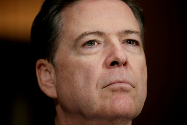 Former FBI Director James Comey