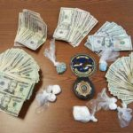 Maine Drug Enforcement investigators seized nearly $18,000 worth of drugs and about $7,700 cash after conducting a bail search for an Embden man suspected of trafficking in drugs.