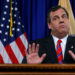 New Jersey Gov. Chris Christie reacts to a question during a news conference in Trenton, New Jersey, U.S. on March 28, 2014.