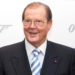 Actor Sir Roger Moore attends the 50 Years of James Bond Auction at Christies in London, Oct. 5, 2012.