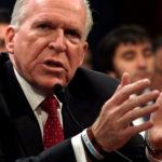Former CIA director John Brennan testifies before the House Intelligence Committee.