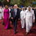 U.S. President Donald Trump and first lady Melania Trump are welcomed by Saudi Arabia's King Salman bin Abdulaziz Al Saud at Al Murabba Palace in Riyadh, Saudi Arabia May 20, 2017.
