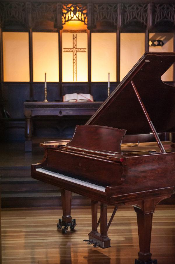 All Souls Church Arlan A. Baillie Steinway Piano