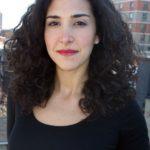 Keynote speaker Alana Newhouse, editor of Tablet, the online Jewish magazine.