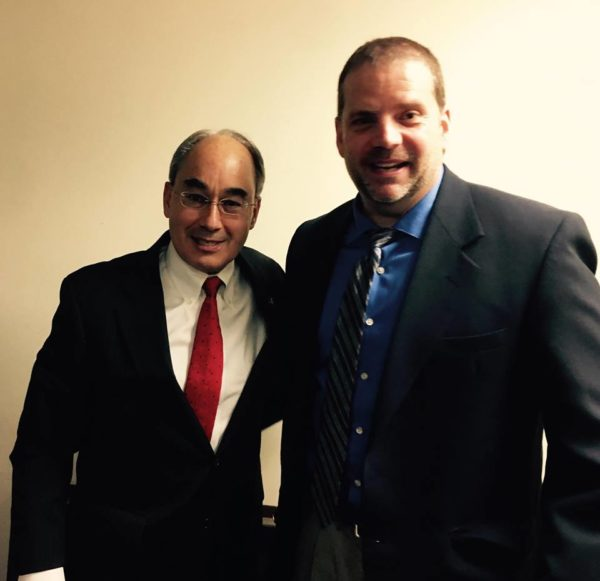 Madawaska Board Chairman meets with Rep. Bruce Poliquin in his DC Office in March