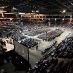 The Cross Insurance Center will be the site of Husson University's 118th Annual Commencement Exercises. The graduation ceremony begins at 10:30 a.m. on May 6, 2017.