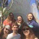 Jackman Drama Club experiences New York City. CREDIT: Contributed.