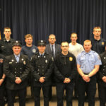 These Maine firefighters graduated May 21 from the Maine Fire Service Institute's Maine State Fire Academy program.In the front row, left to right, are Justin Butler, Greg Feltis, Keith Champagne, Zachary Stoler, Lee Hough and Matthew Pellerin. In the back row, left to right, are Taylor Haines, Sean Ruel, Thomas Fallon, Svenson Pulsifer and James Wieliczko.