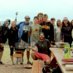 Tenth Grade Trekkers Cooking al Fresco in Colorado