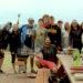 Tenth Grade Trekkers Cooking al Fresco in Colorado
