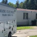 Maine State Police closed off Route 11 in Belgrade late Friday night after what officials say was an officer-involved shooting.