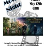 The Henry D. Moore Library and Parish House host a free movie night 6 p.m. May 12.