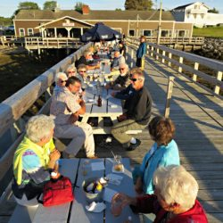 A great time was had by all at the 2016 Party on the Pier at The Contented Sole in Pemaquid!