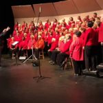 Steve Weston Conducts Midcoast Community Chorus.