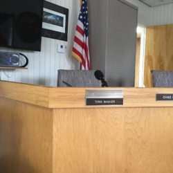 The Managers Seat in Council Chambers at the Madawaska Town office will be filled soon.